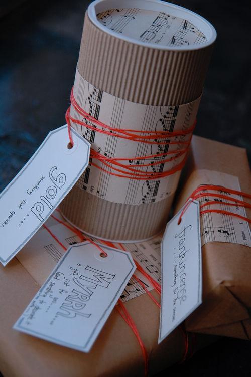 Back tack parcels