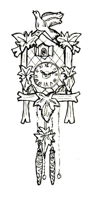 Coo Clock Coloring Pages For Adults Coo Best Free