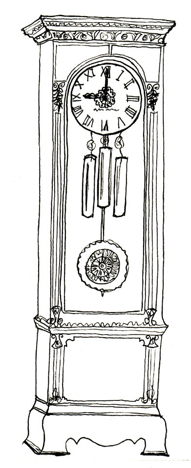 Applehead Clock Watcher