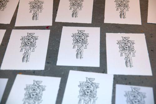 Clock prints