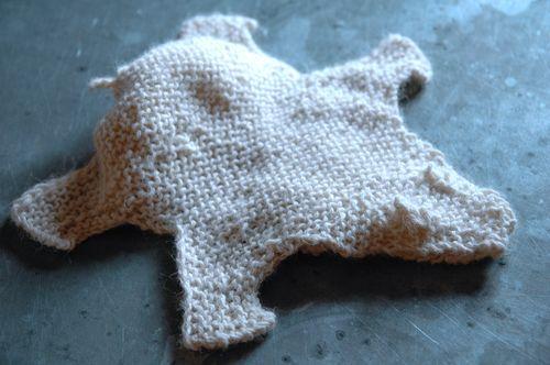 Small bear rug