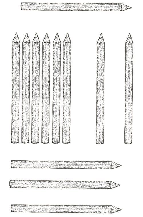 Six pencils low res