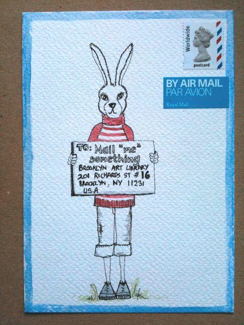 Mail me something card