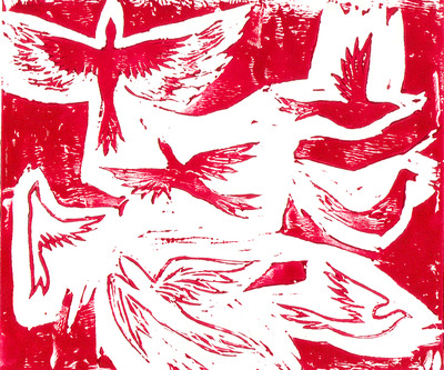 Lino_print_red